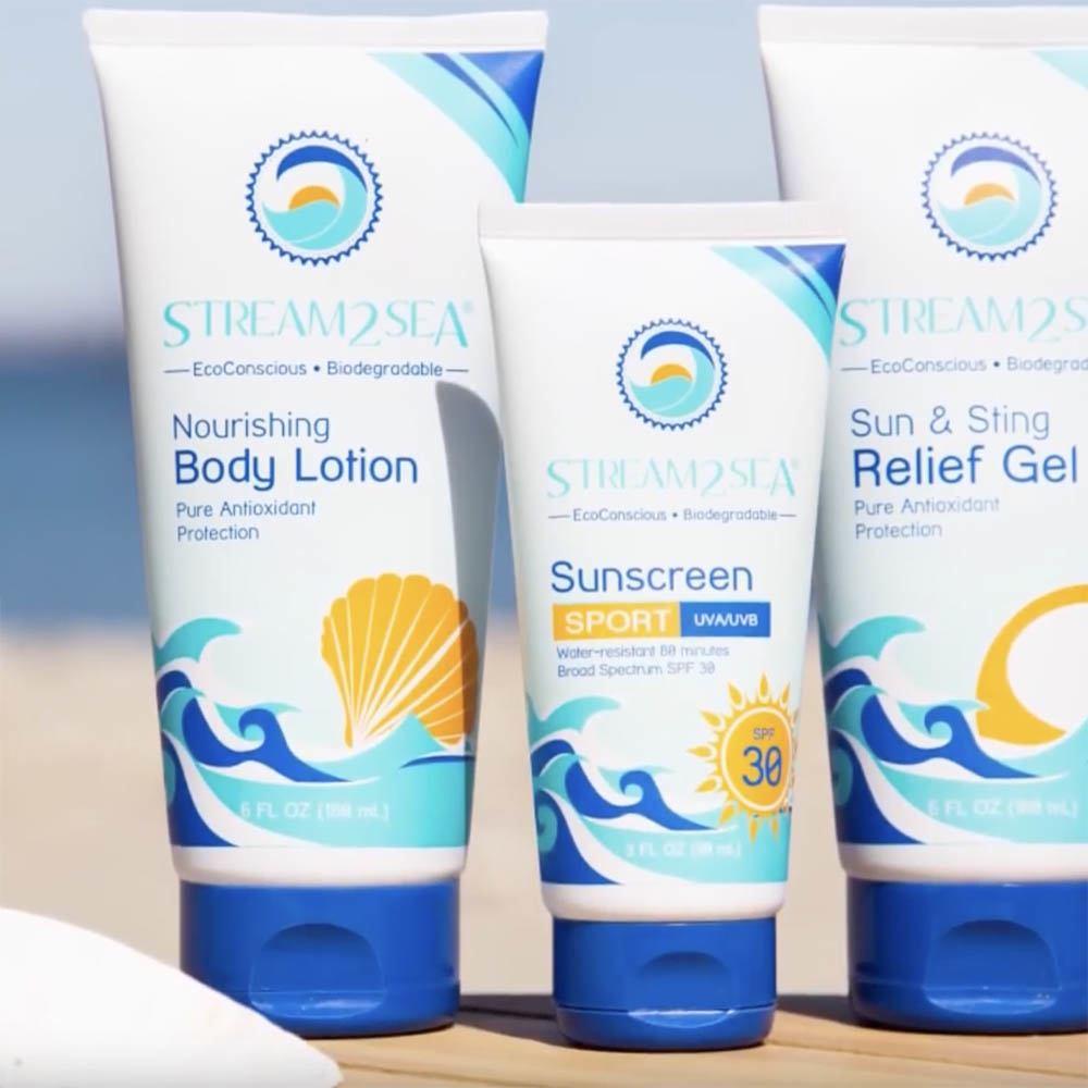 友善海洋防曬乳