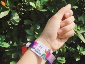 游牧森林音樂祭RFID感應式智慧型手環