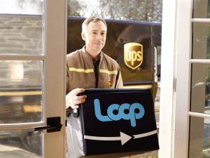 UPS 與 Loop 攜手合作遞送回收容器。 (來源:Loop)